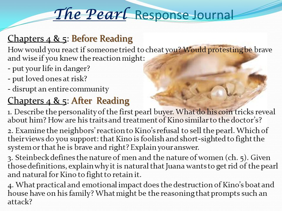 the pearl chapter 4 summary
