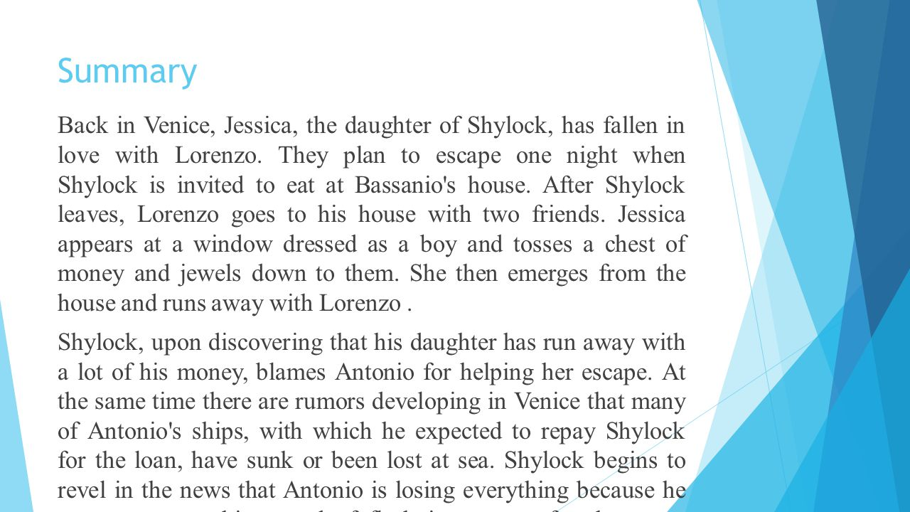 merchant of venice jessica character analysis