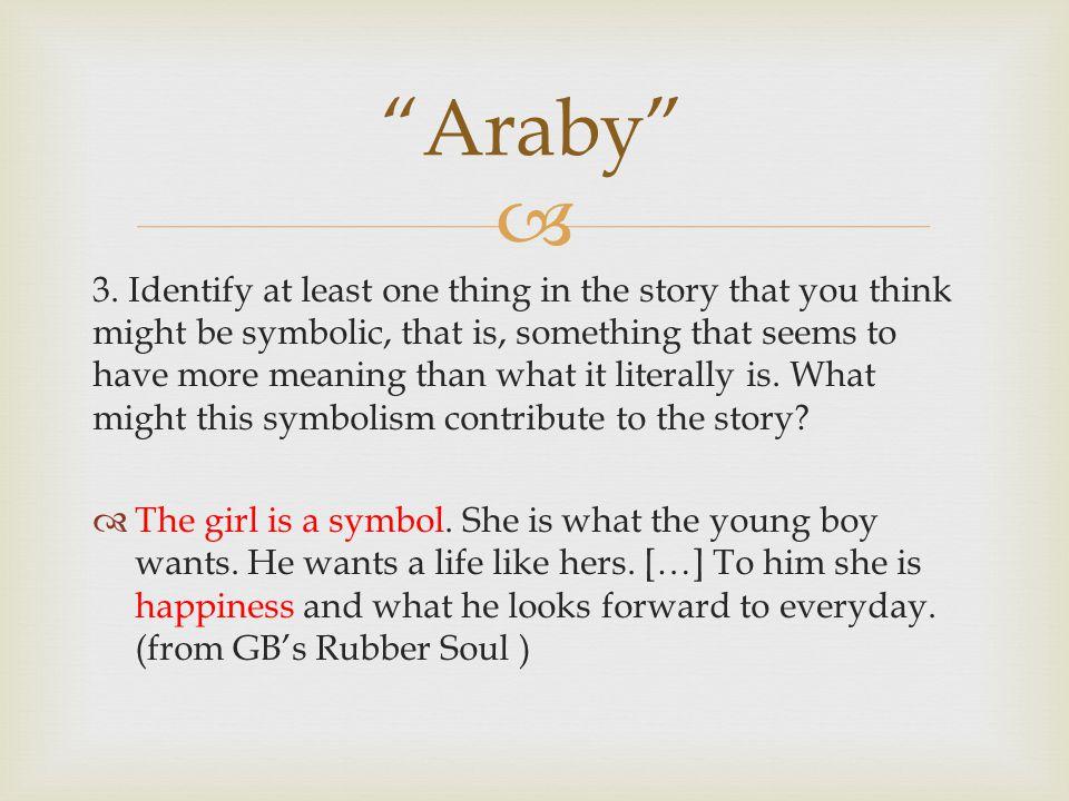 araby character analysis