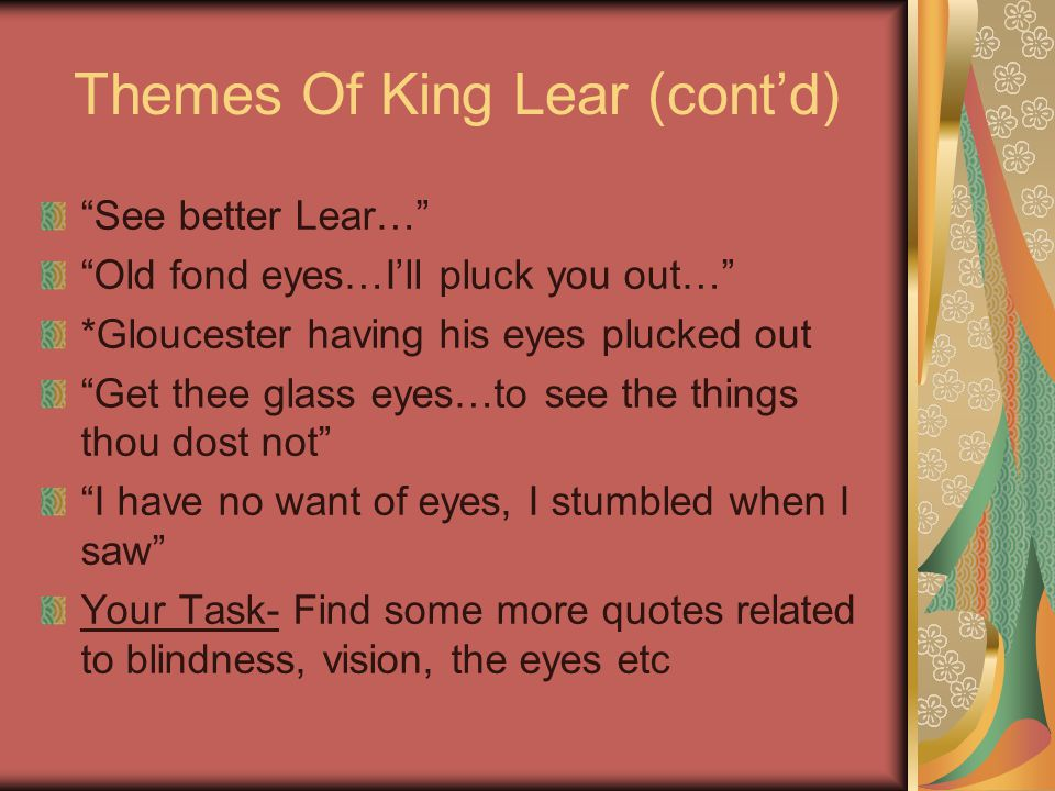 king lear family quotes