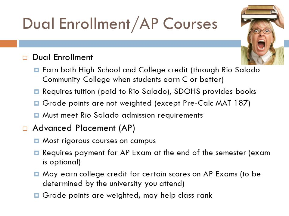 Dual Enrollment/AP Courses