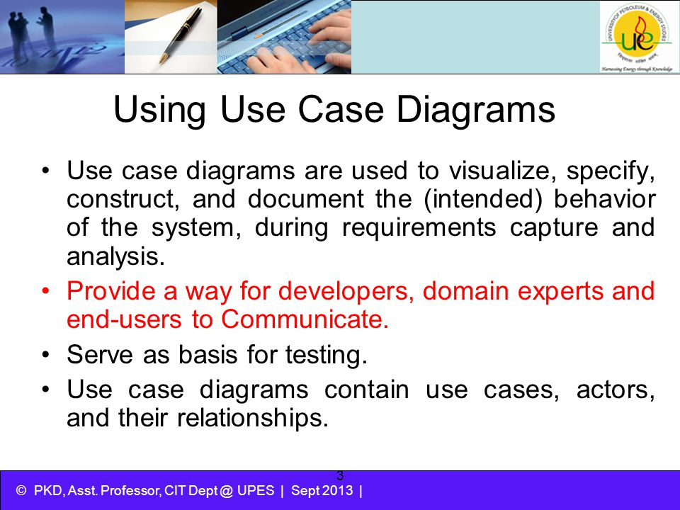 Using Use Case Diagrams