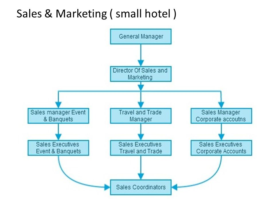 Sales & Marketing ( small hotel )