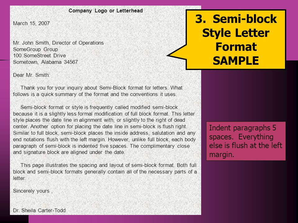 Business corespondent ppt download semi block style letter format spiritdancerdesigns Choice Image
