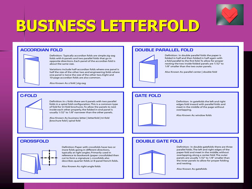 BUSINESS LETTERFOLD