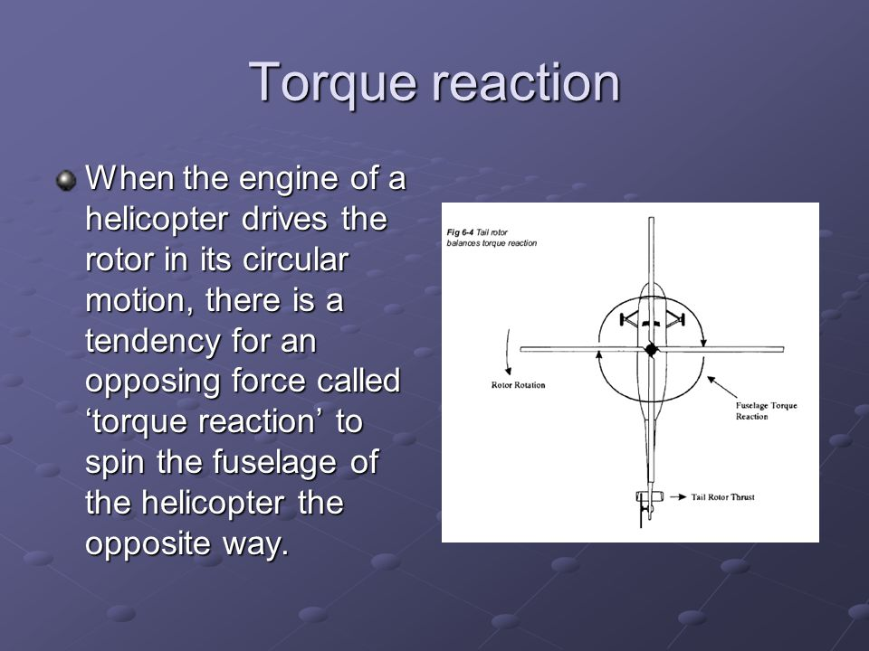 Torque reaction
