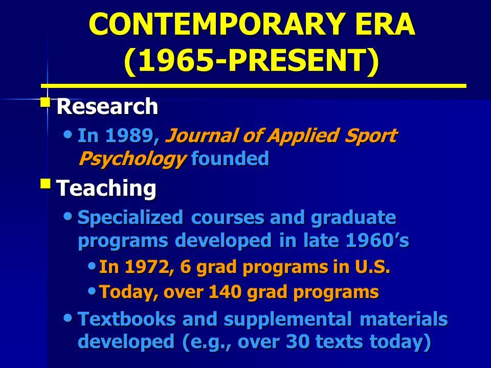 sport psychology graduate programs