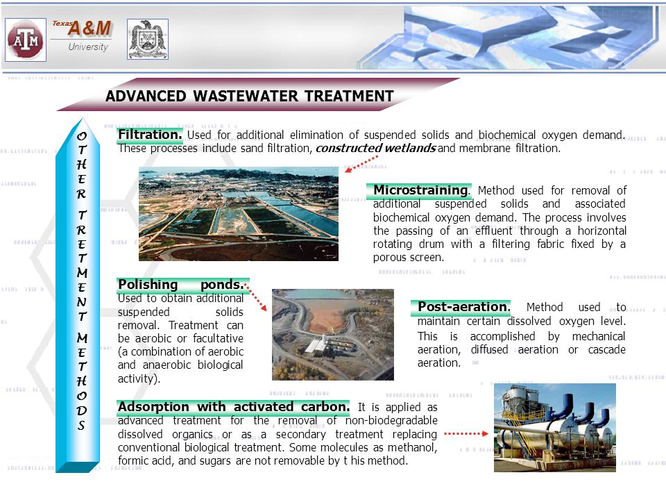 ADVANCED WASTEWATER TREATMENT