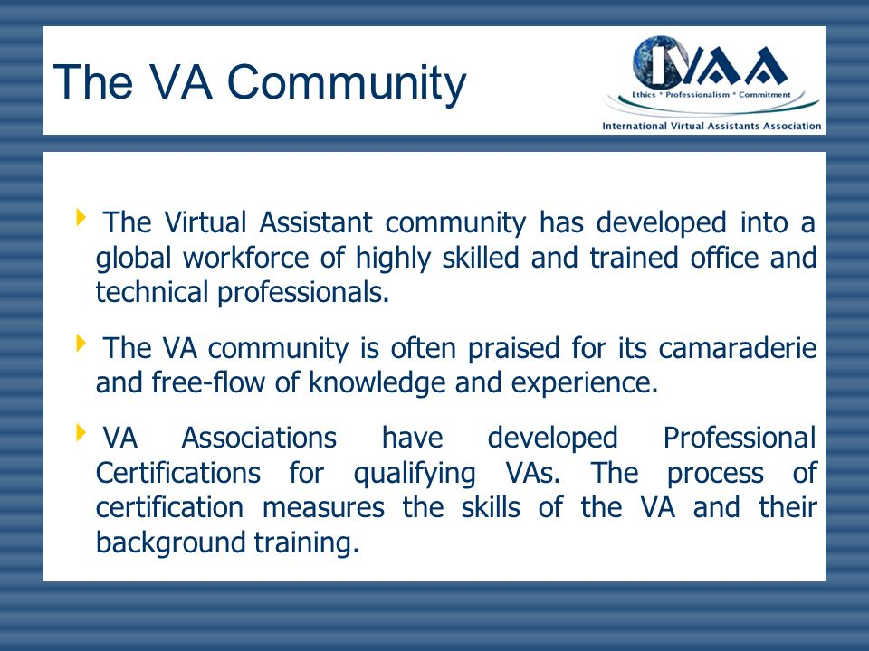 Virtual Assistant Services Ppt Video Online Download