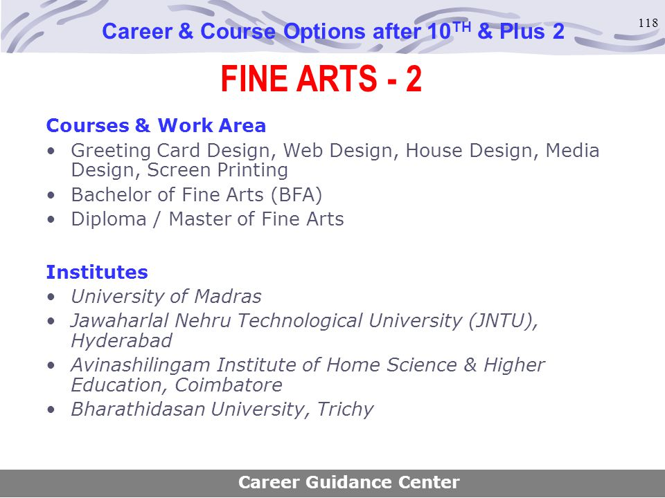 Career Course Options After 10th Plus 2 Ppt Download