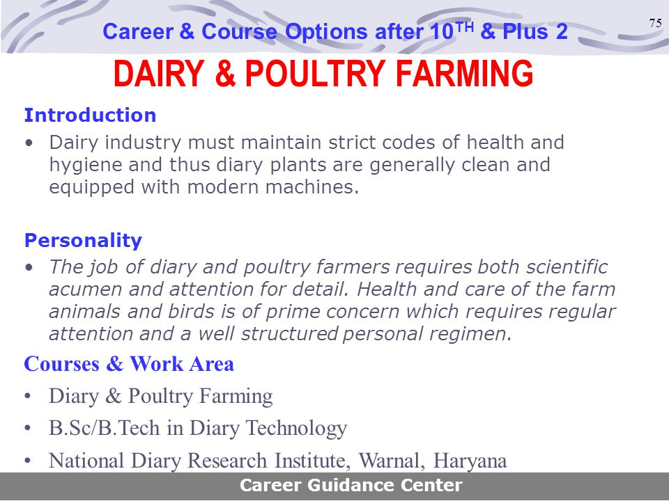 DAIRY & POULTRY FARMING