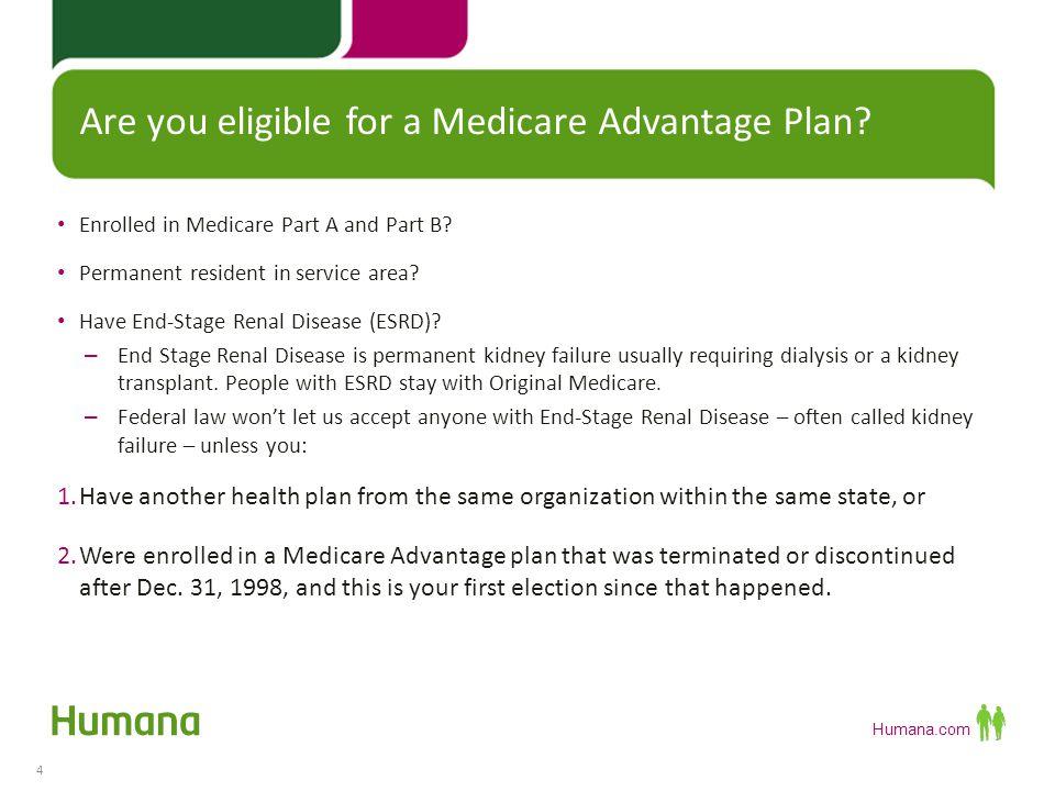 Humana Medicare Advantage and Prescription Drug Plans - ppt