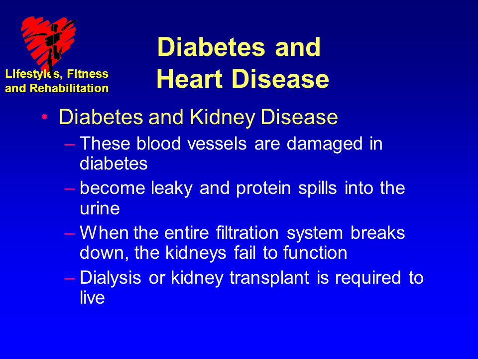 Diabetes and Heart Disease