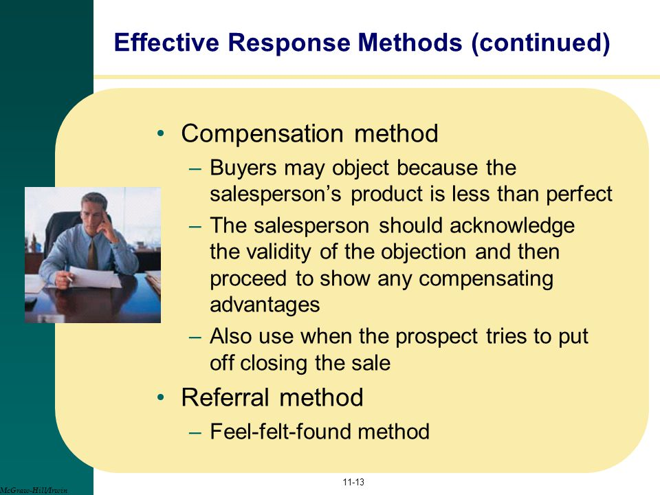 Effective Response Methods (continued)