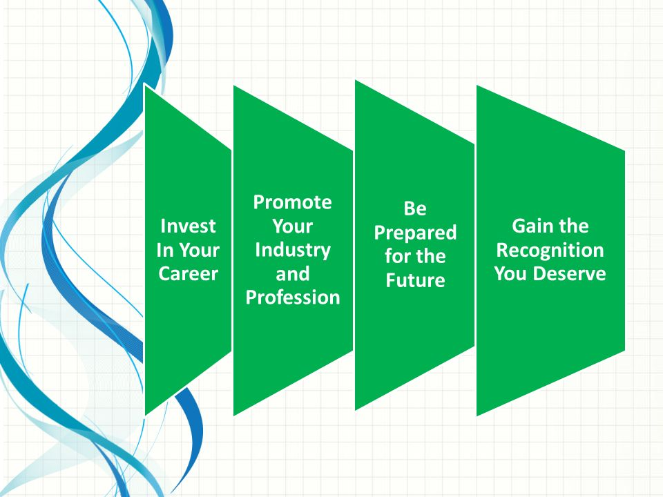 Be Prepared for the Future Invest In Your Career