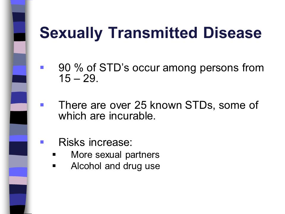 Viral sexually transmitted infections that are incurable depression