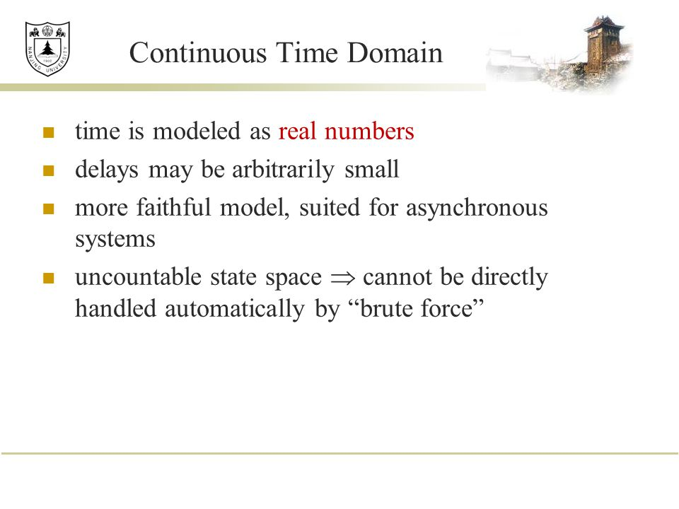 Continuous Time Domain