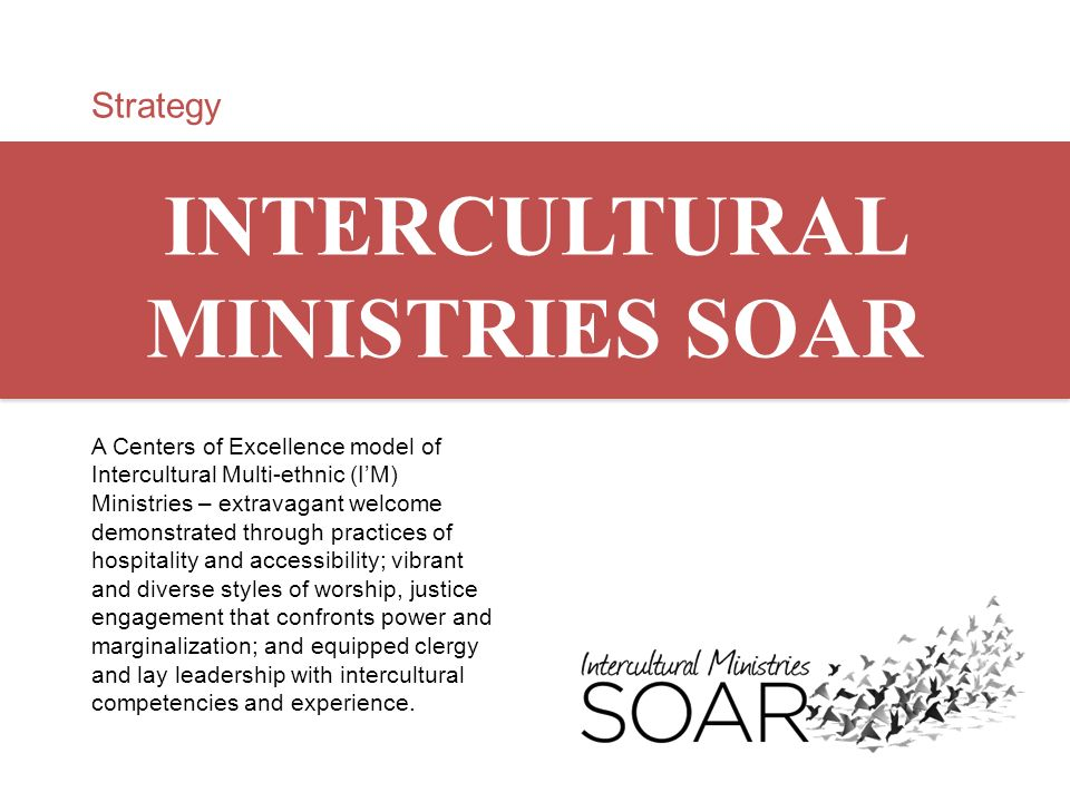 INTERCULTURAL MINISTRIES SOAR