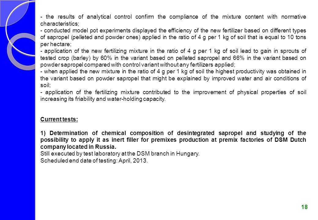 Soil Chemical Properties Determination