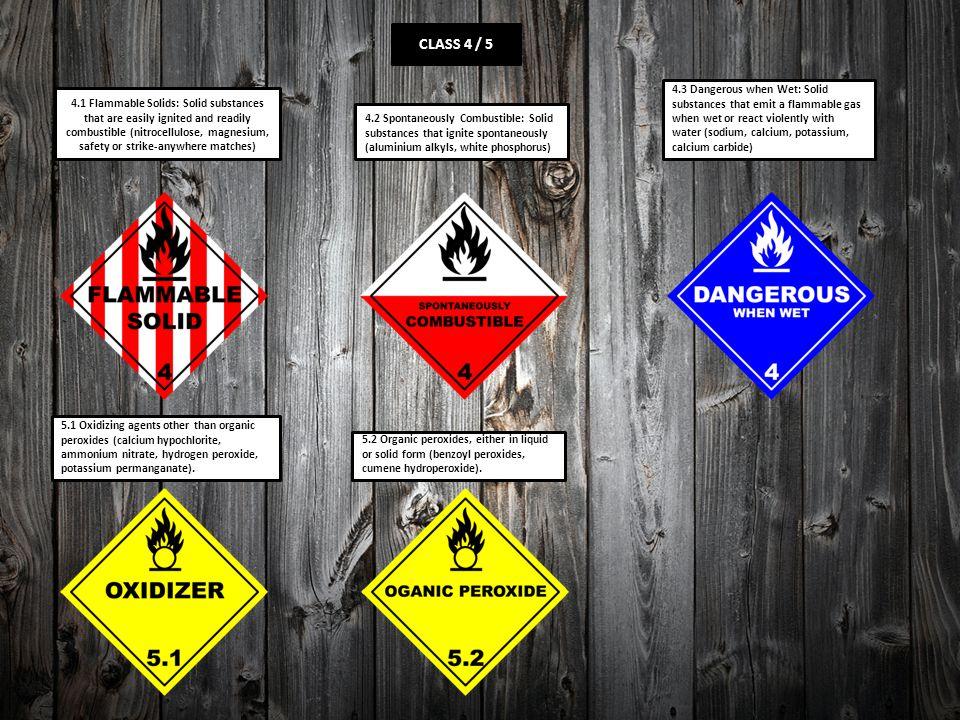 Dangerous Goods Signs Ppt Video Online Download