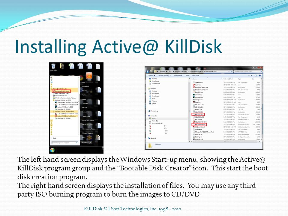 Administrator's and User's Guide for KillDisk - ppt video online