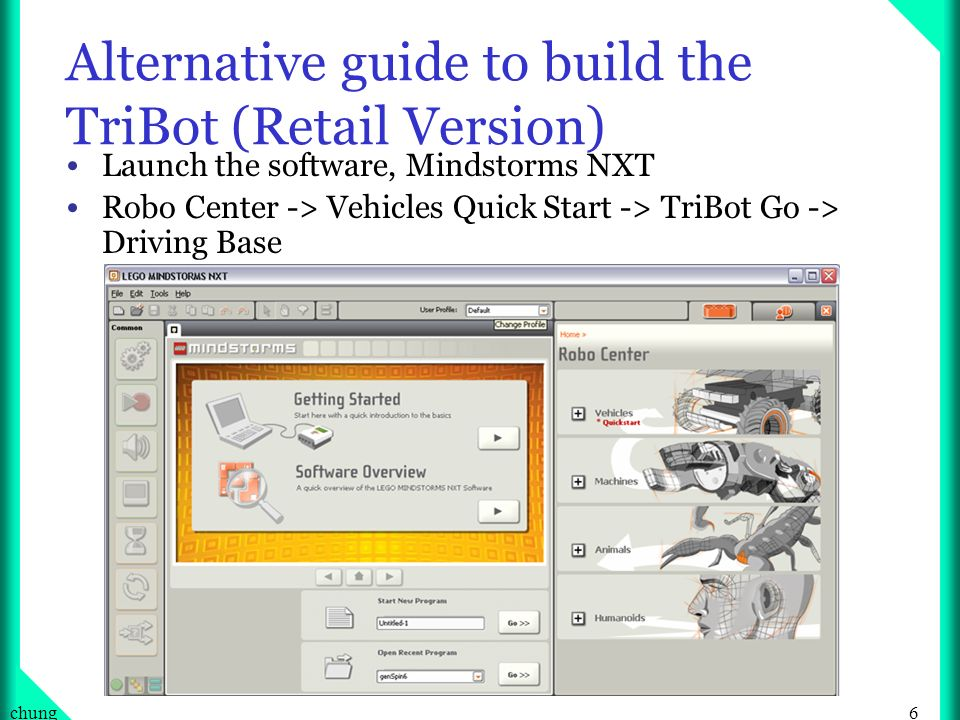 Alternative guide to build the TriBot (Retail Version)