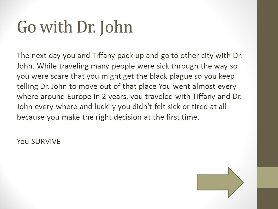 Go with Dr. John