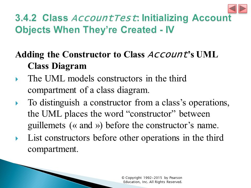 3.4.2 Class AccountTest: Initializing Account Objects When They're Created - IV