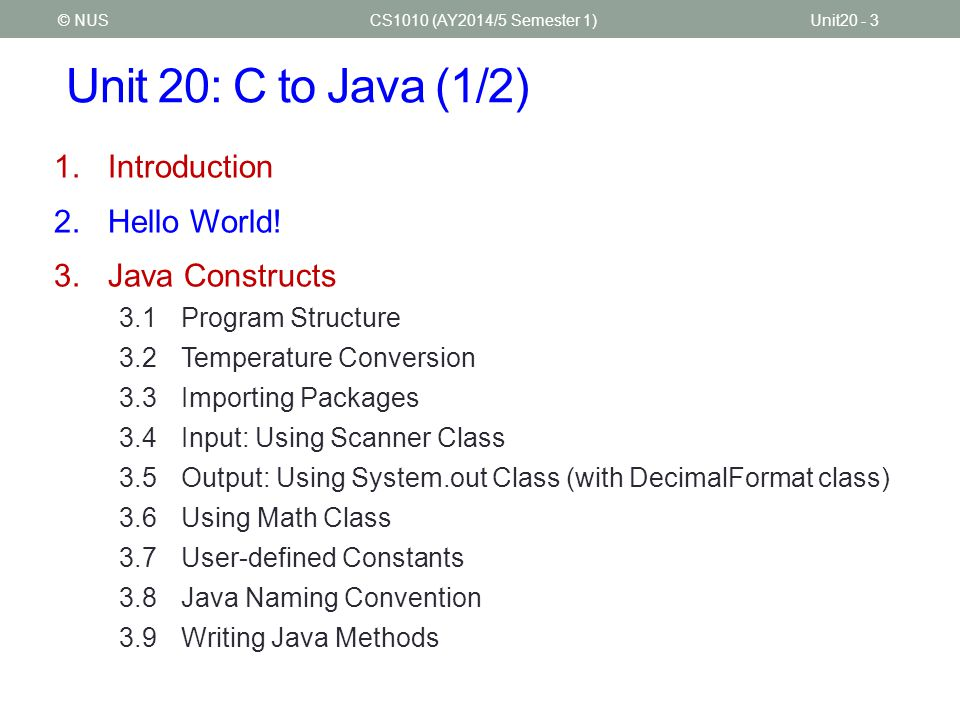 CS1010 Programming Methodology - ppt download