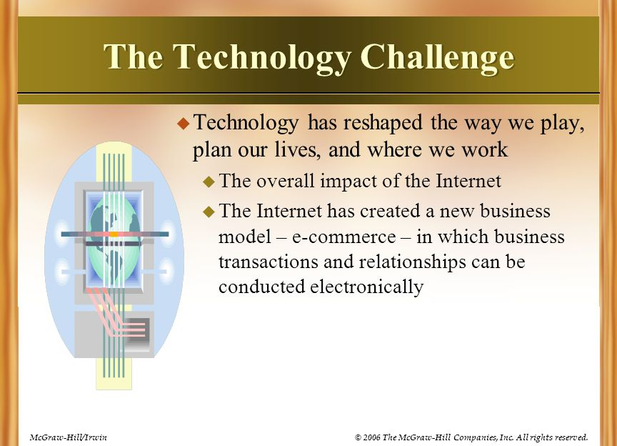The Technology Challenge