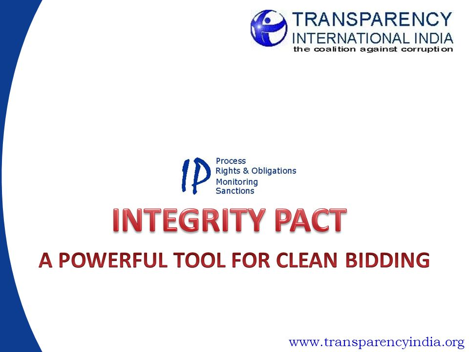 A POWERFUL TOOL FOR CLEAN BIDDING