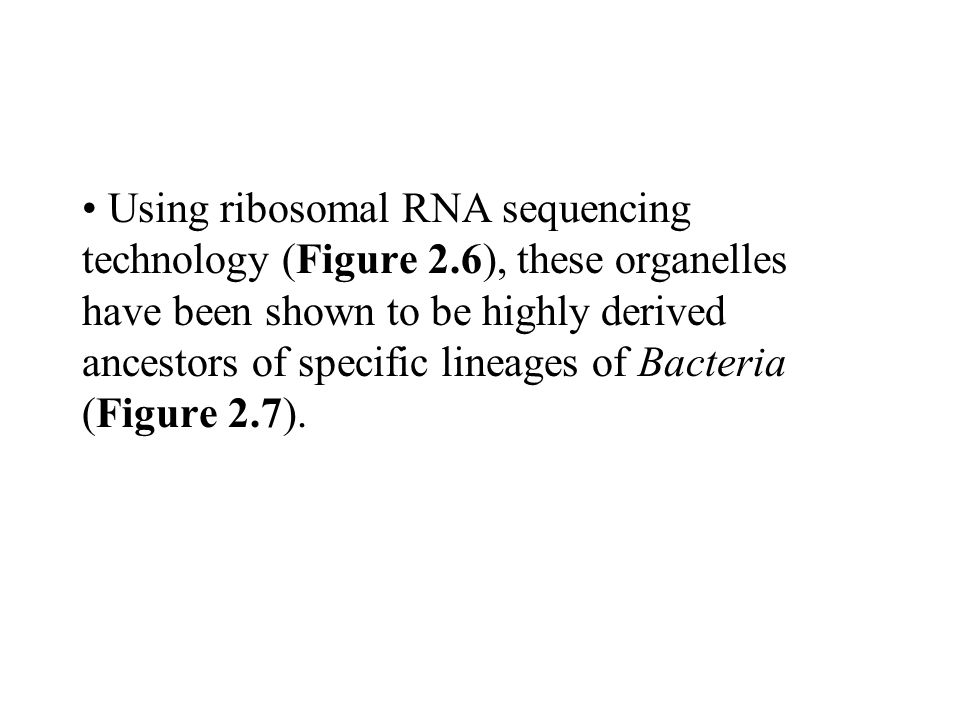 Using ribosomal RNA sequencing technology (Figure 2