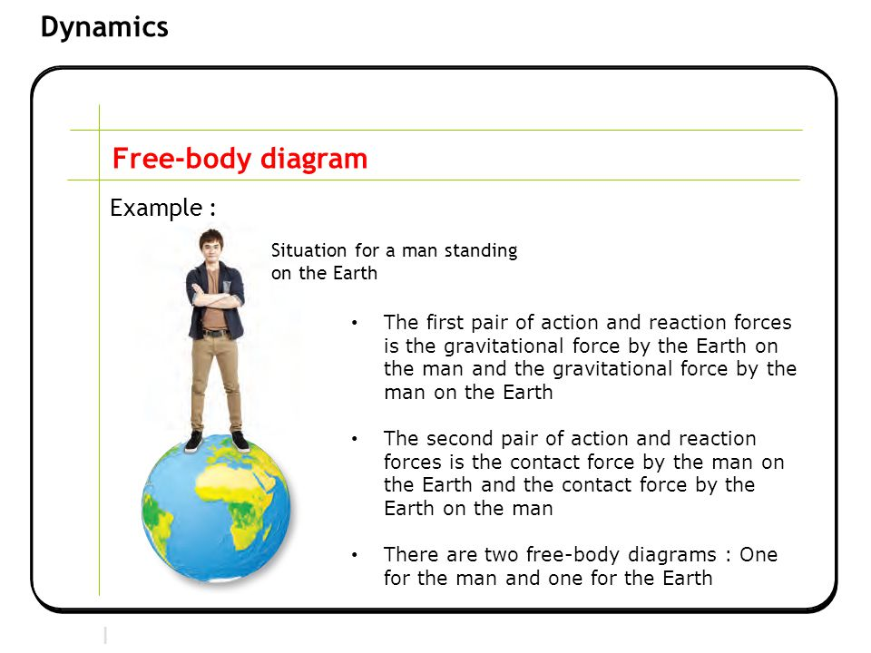 Learning outcomes describe the effect of balanced and unbalanced free body diagram example situation for a man standing on the earth ccuart Gallery