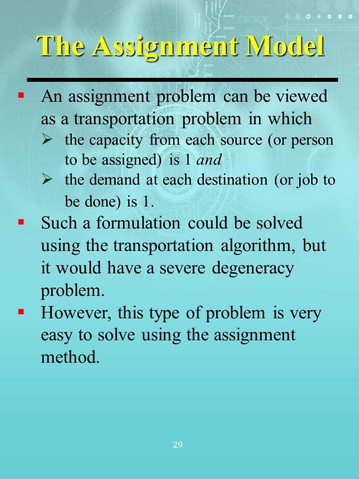 How To Solve Transportation Problem