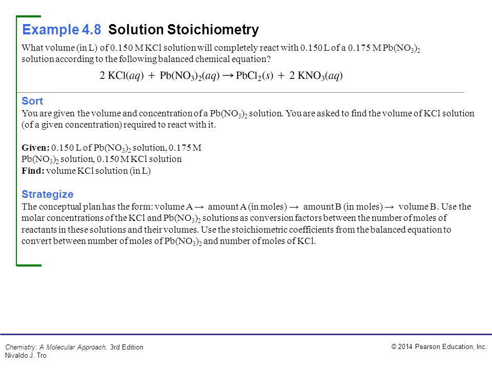 Ppt solution stoichiometry powerpoint presentation id:4638171.