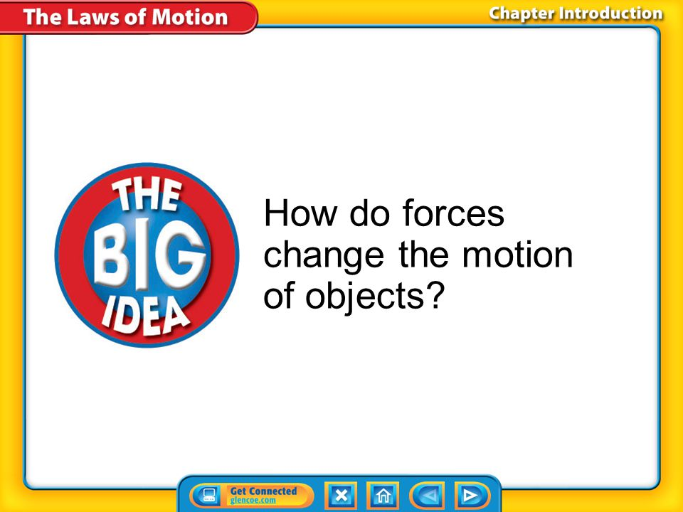 How do forces change the motion of objects