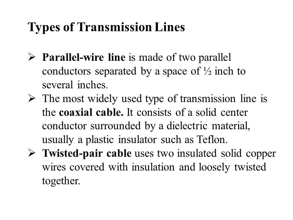 Chapter 13 Transmission Lines - ppt video online download