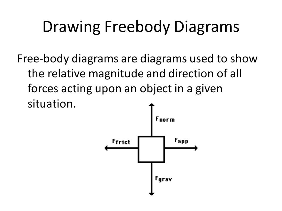 Drawing Freebody Diagrams