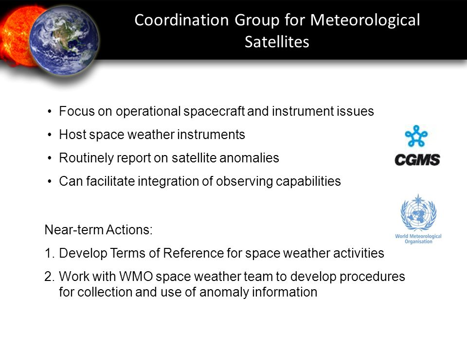 Coordination Group for Meteorological Satellites