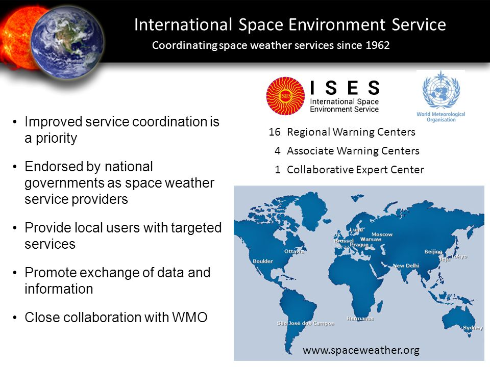 International Space Environment Service