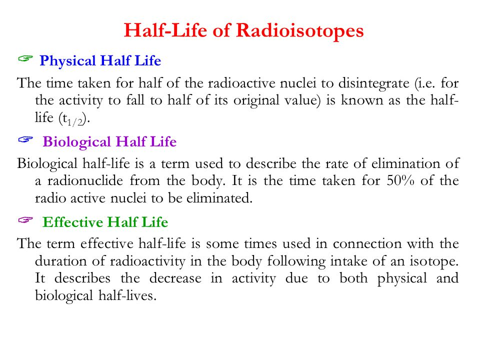 Radioisotopes & Radiopharmaceuticals - ppt download