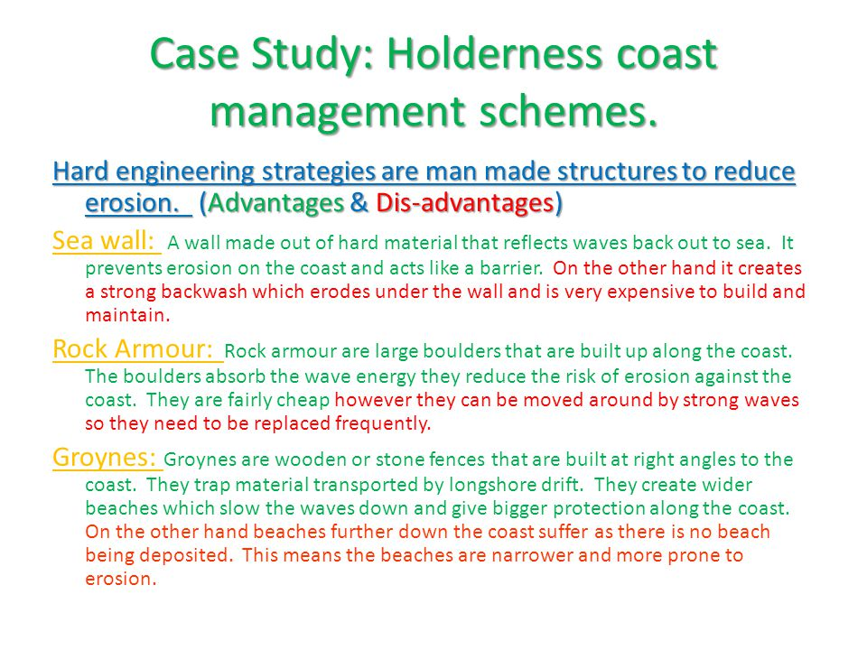 holderness coast case study ppt