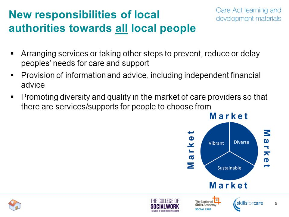 New responsibilities of local authorities towards all local people