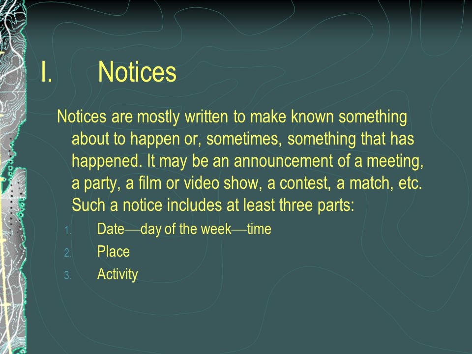 Practical writing notices greetings notes invitation business 2 notices stopboris Image collections