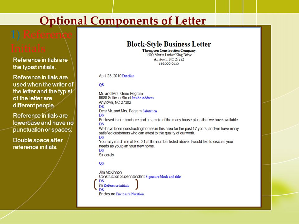 list of salutations for business letters
