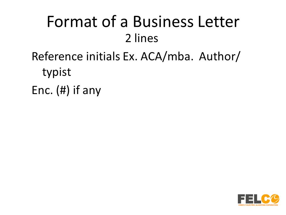 Lesson 2 business letters parts and formats ppt download 51 format spiritdancerdesigns Image collections