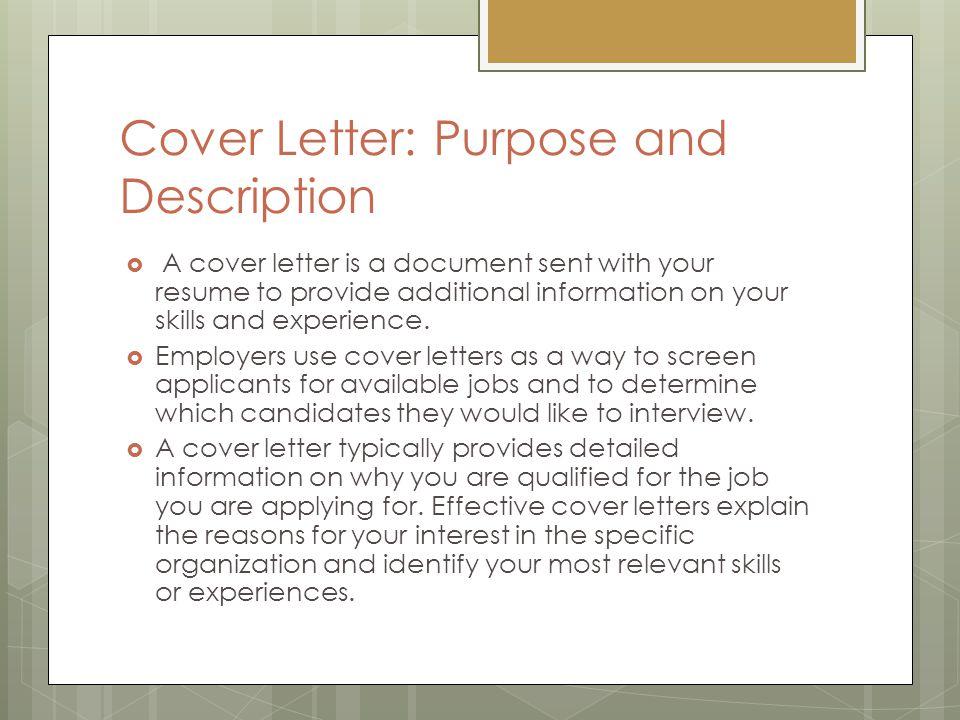 job application letter  cover letter