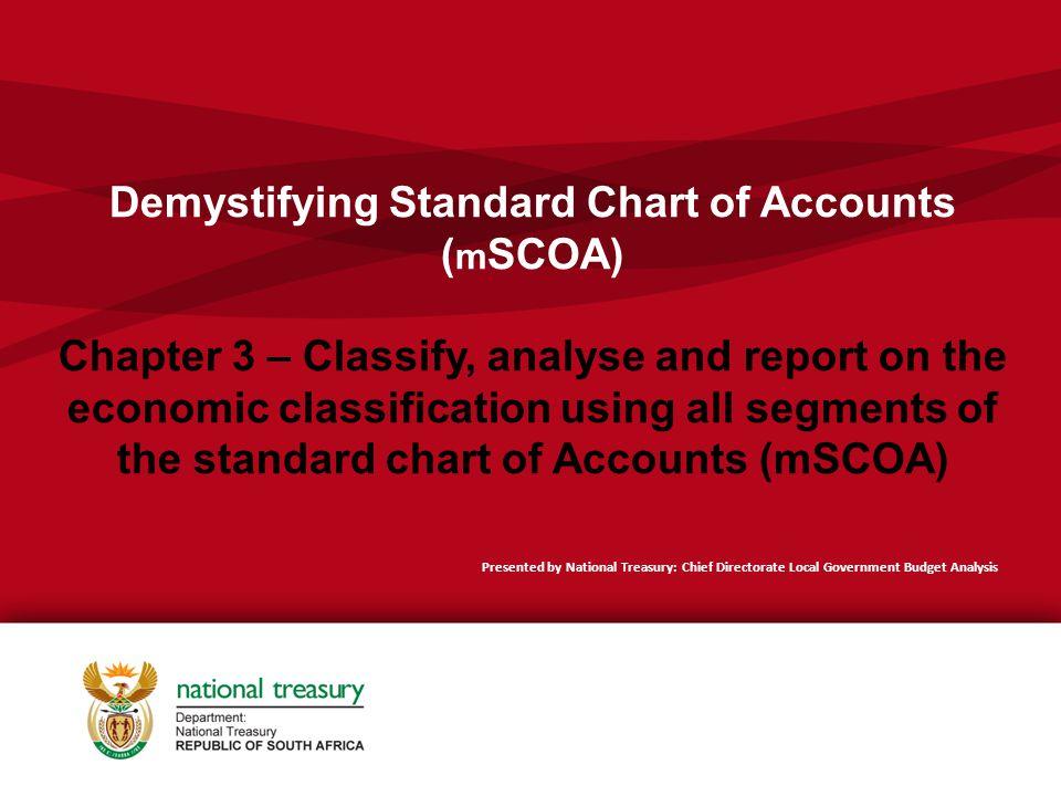 Demystifying Standard Chart of Accounts (mSCOA) Chapter 3