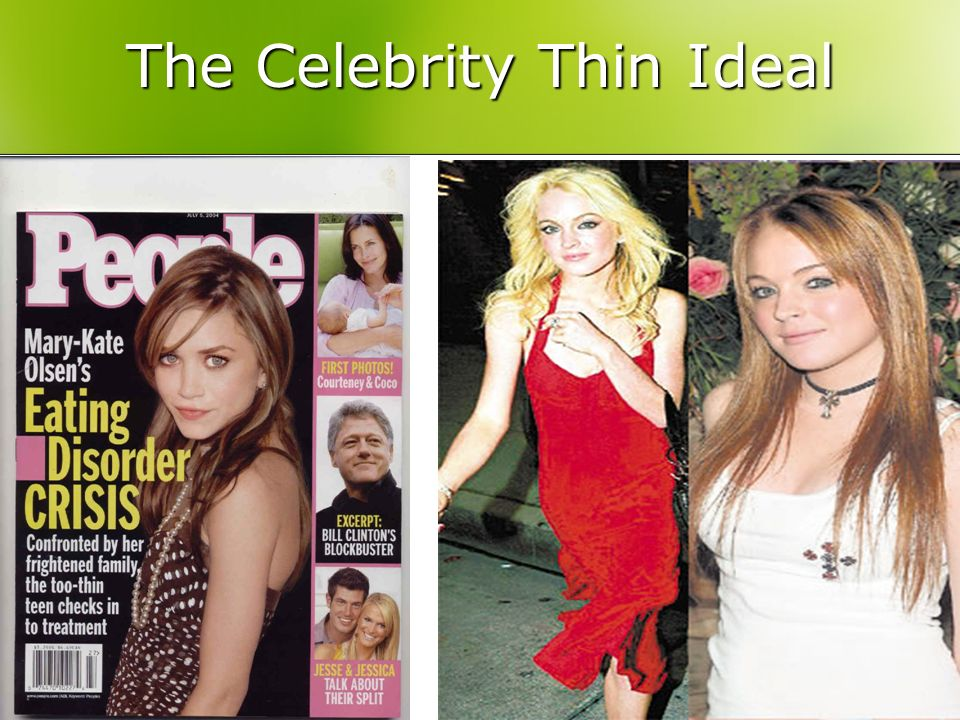The Celebrity Thin Ideal