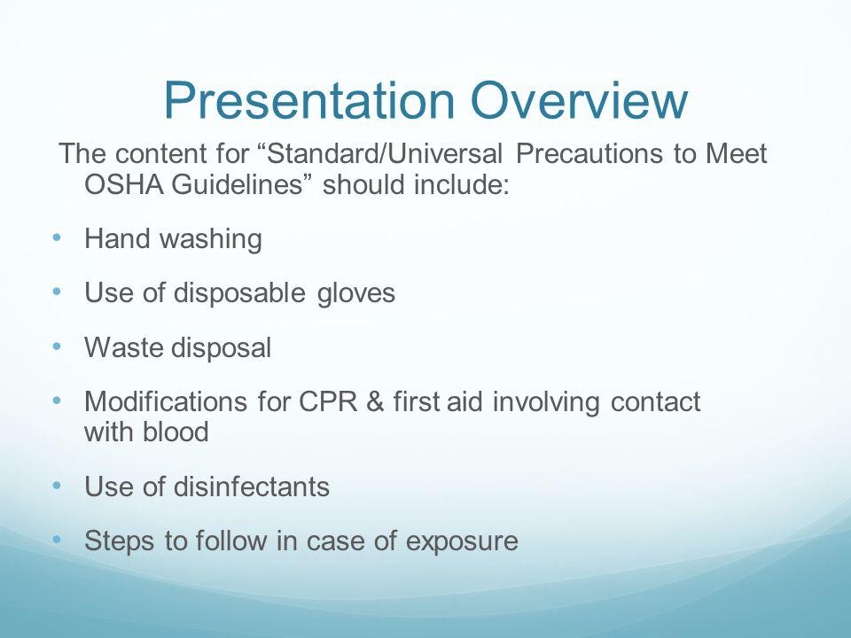 Presentation+Overview